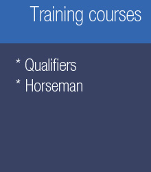 Training courses: Qualifiers, horseman